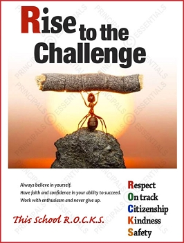 Rise to the Challenge Poster