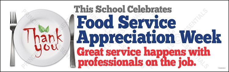 Food Service Appreciation Week