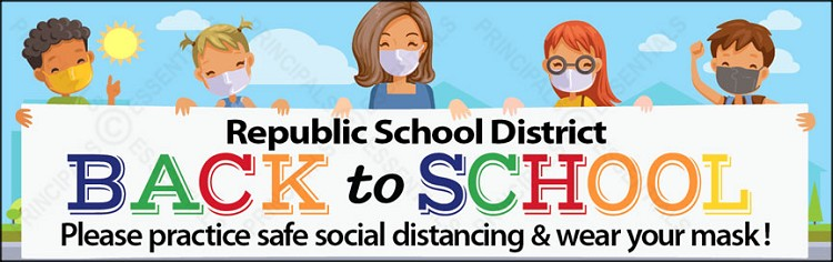 Republic School District Banners