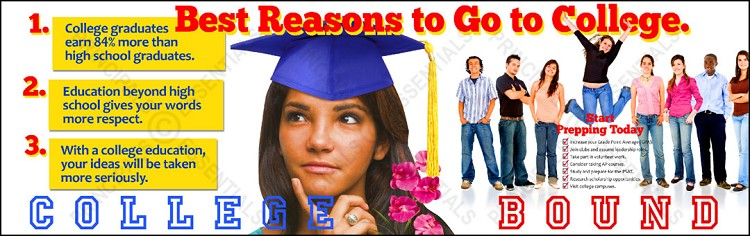 Best Reasons Vinyl Banner