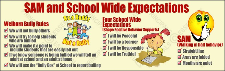 School Wide Expectations Banner