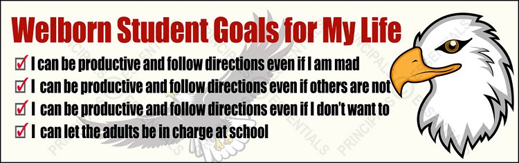 Student Goals for My Life Banner