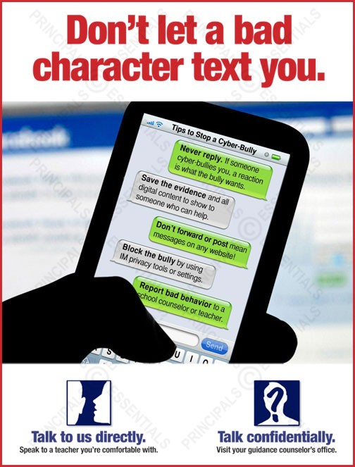 Don't let a bad character text you.