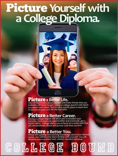 Picture Yourself with a College Diploma.