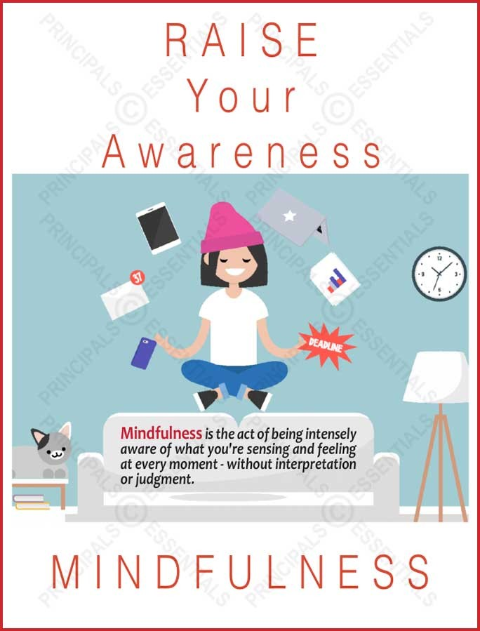 RAISE Mindful Awareness Poster