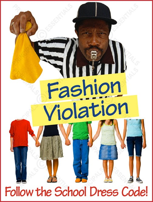 Fashion Violation Poster