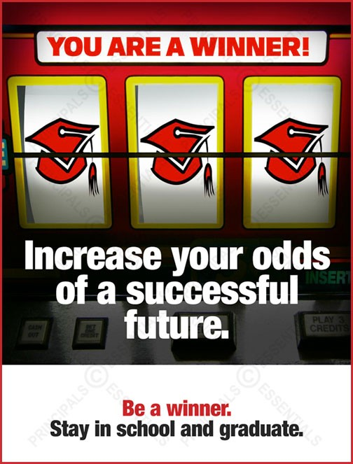 Increase your odds of a successful future.