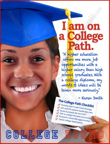 College Path Poster