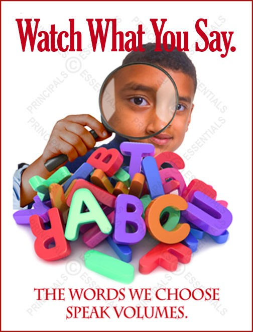 Watch What You Say Poster