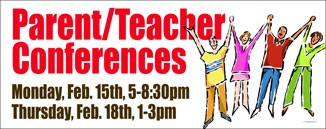 Planner P/T Conference Banner