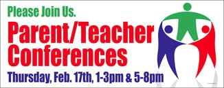 Circle Parent Teacher Conference Banner