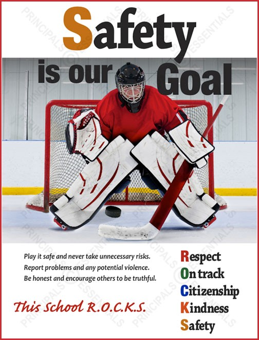 Safety is our Goal Poster